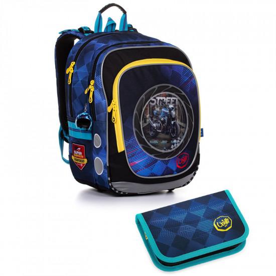 Školský batoh a peračník Topgal ENDY 20013 B