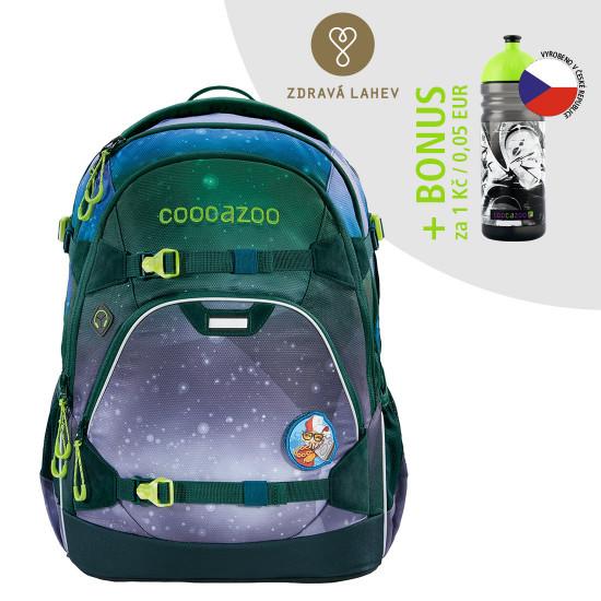 Školský ruksak coocazoo ScaleRale, OceanEmotion Galaxy Blue + zdravá fľaša za 0,05 EUR