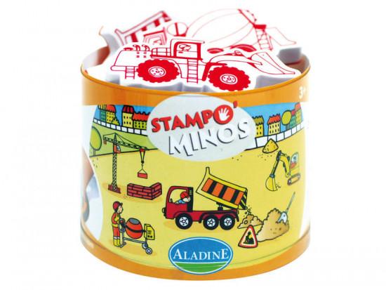 Detské pečiatky StampoMinos, na stavbe