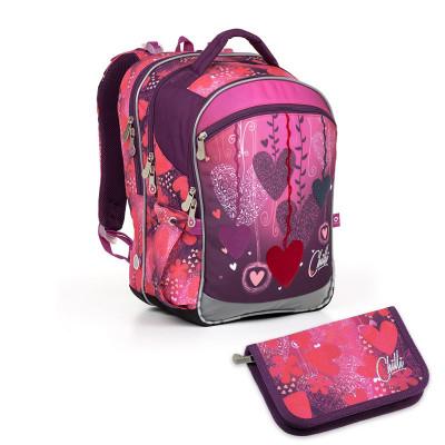Školský batoh a peračník Topgal - COCO17002 G + PENN17002 G