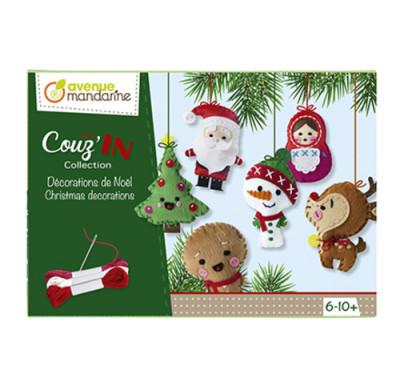 Kreatívna súprava Vianočné dekorácie na ušitie