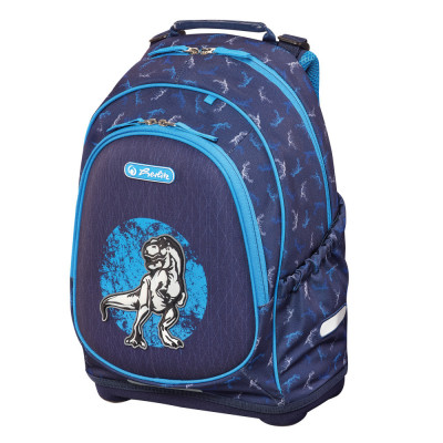 Školský batoh Herlitz Bliss - Modrý dino
