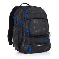 Študentský batoh Topgal - HIT 882 A - Black