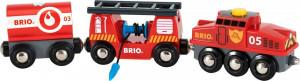 Brio - Hasičský záchranársky vlak