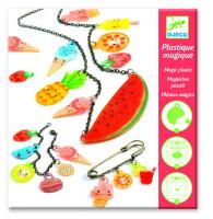 Zmršťovacie obrázky – výroba šperkov – ovocné potešenie