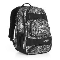 Študentský batoh Topgal - HIT 894 A - Black