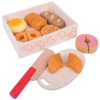 Bigjigs -  Krájanie pečiva v krabičke