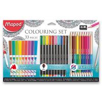 Výtvarná kolekcia Maped Colouring set- 33 kusov.