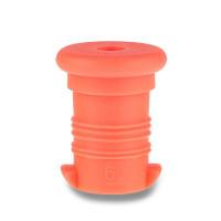 Náhradná zátka na Zdravú fľašu, oranžová fluo