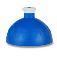 Náhradné viečko na Zdravú fľašu, tmavo modrá/ biela