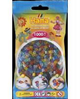 Hama Midi - koráliky transparentné 1000 ks