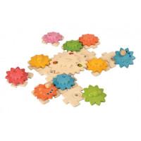 Puzzle – ozubené kolieska