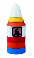Pyramída Krtko v rakete