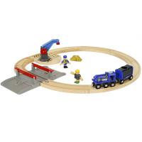 Brio set - Vláčikodráha s policajným vlakom