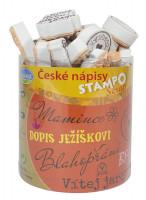 Stampo scrap -  České nápisy