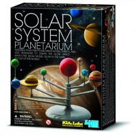 Model slnečnej sústavy – svietiaci v tme