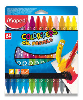 Olejové pastely Maped Color'Peps  - 24 farieb