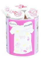 Stampo textil - Kúzelní jednorožci - 14 ks