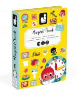 Magnetická kniha skladačka Hodiny