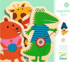 Magnetické zvieratká s loptičkami