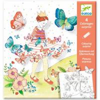 Maľovanky s prekvapením – Motýliky