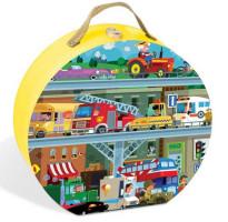 Detské puzzle Dopravné prostriedky - 100 ks