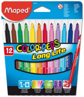 Detské fixky Maped Color´ Peps- 12 farieb