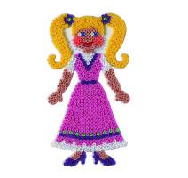 Hama Midi - podložka bábika