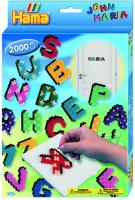 Hama midi - darčeková sada - veselé písanie - 2000 ks