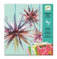 Kirigami Papierové hviezdy