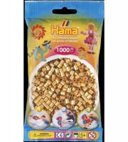 Hama Midi - koráliky zlaté 1000 ks