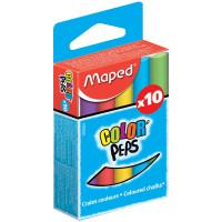 Farebné školské kriedy Maped- 10 ks