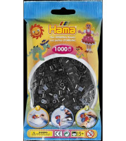Hama Midi - koráliky čierne 1000 ks