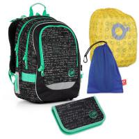 Set pre školáka TOPGAL - CHI 866 A + CHI 889 + vrecko na prezuvky, pláštenka na batoh