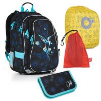 Set pre školáka Topgal - CHI 882 A + CHI 917 + vrecko na prezuvky, pláštenka na batoh