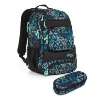 Študentský  batoh a peračník Topgal - HIT 888 E + HIT 902