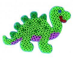 Hama Maxi podložka priehľadná - dinosaurus