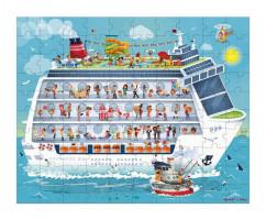 Puzzle Námorná plavba 2v1 100-200 ks