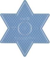Hama Midi - podložka hviezda