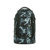 Študentský batoh Ergobag Satch - Gravity Grey