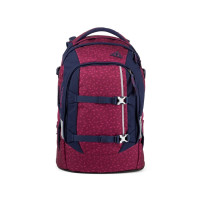 Študentský batoh Ergobag Satch - Blazing Purple