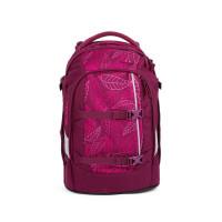 Študentský batoh Ergobag Satch - Purple Leaves