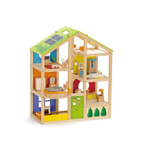 Farebný domček- poschodový