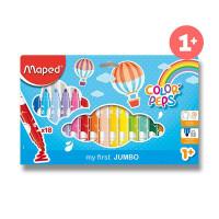 Detské fixky Maped Color´Peps Jumbo - 18 farieb