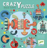 Kreatívne puzzle – obyvatelia mora – 18 ks