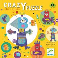 Kreatívne puzzle – prapodivné zvieratká – 20 ks