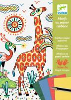 Výtvarná hra – zvieratá v divočine – kúzlenie s kopírovacím papierom