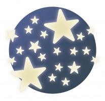 Fosforeskujúce samolepky – Hviezdy