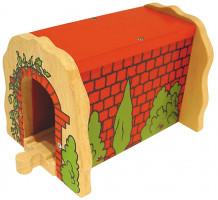 Bigjigs - Tehlový železničný tunel