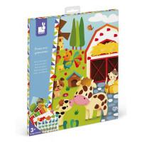 Atelier Sada Mini - Vytvor plagát Farma s nálepkami